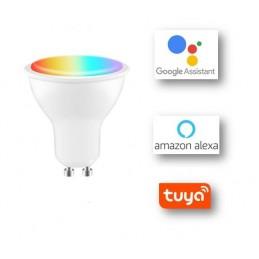 Bombilla 4W LED WIFI RGB...